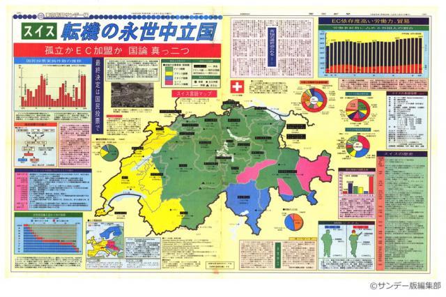 スイス・転機の永世中立国(No.100)(1993年12月12日) | 東京新聞 ...